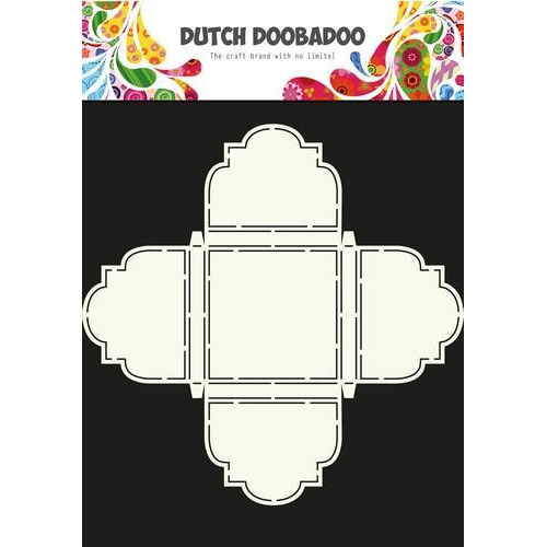 Dutch Doobadoo Dutch Box Art stencil bonbon doosje 470.713.042  A4 (12-17)