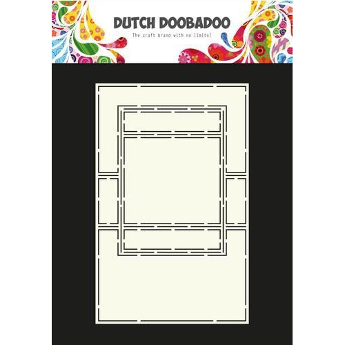 Dutch Doobadoo Dutch Card Art tekst Trifold 2 470.713.650  A4 (12-17)