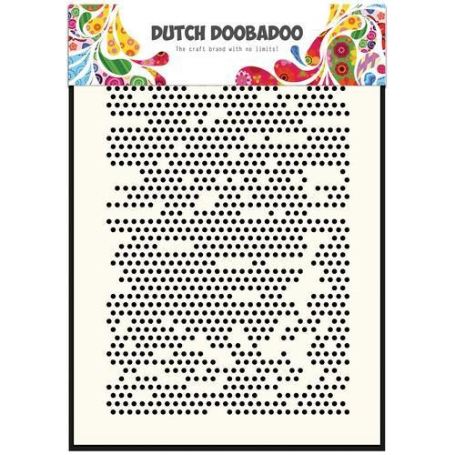 Dutch Doobadoo Dutch Mask Art stencil  Dots 470.715.119  A5 (12-17)