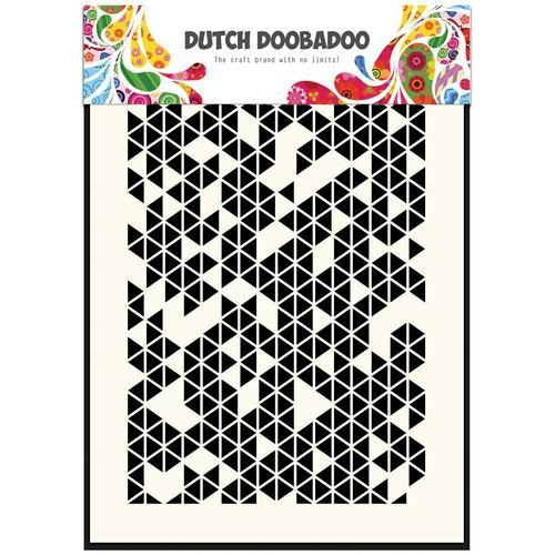 Dutch Doobadoo Dutch Mask Art stencil  Driehoeken 470.715.120  A5 (12-17)