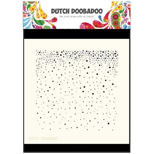 Dutch Doobadoo Dutch Mask Art stencil  Sneeuw 470.715.605  15x15CM (12-17)