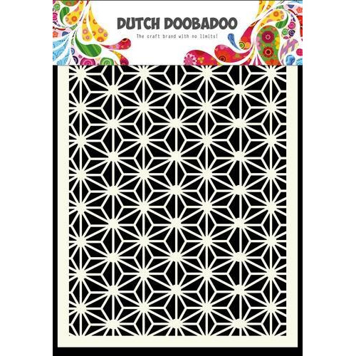Dutch Doobadoo Dutch Mask Art stencil  Sterren 470.741.004  A6 (12-17)