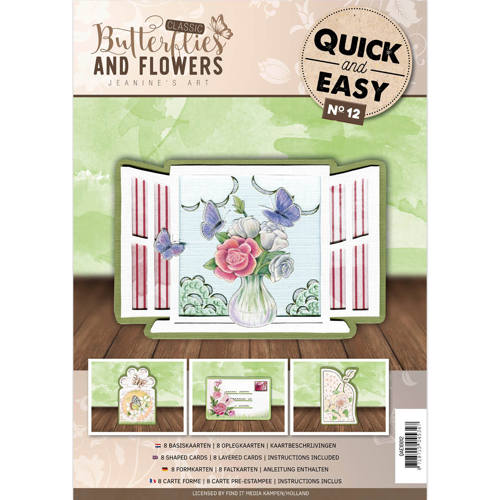 Quick and Easy 12 - Jeanine`s Art - Classic Butterflies and Flowers