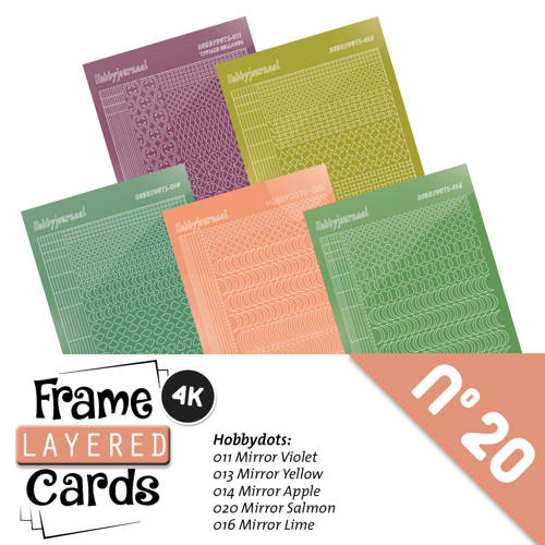 Frame Layered Cards 20 - Stickerset