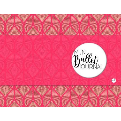 BBNC - Mijn bullet journal - rood