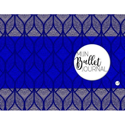 BBNC - Mijn bullet journal - blauw - tnl