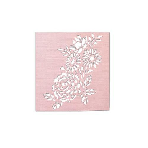Sizzix Thinlits Die - Botanical Mask 662862