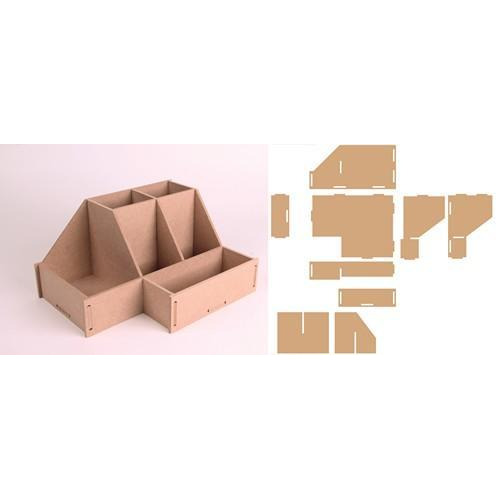 Pronty MDF 3D Toolbox 2 460.423.730 243x185x125mm (12-17)