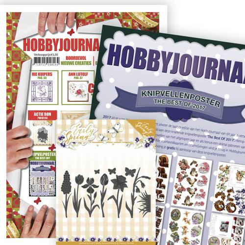 Hobbyjournaal  154 + Knipvelposter + Die