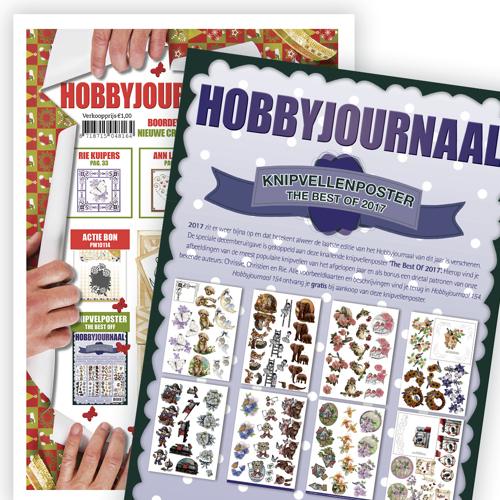 Hobbyjournaal 154 + Knipvelposter combinatie