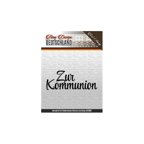 Amy Design - Zur Kommunion - Textstamp