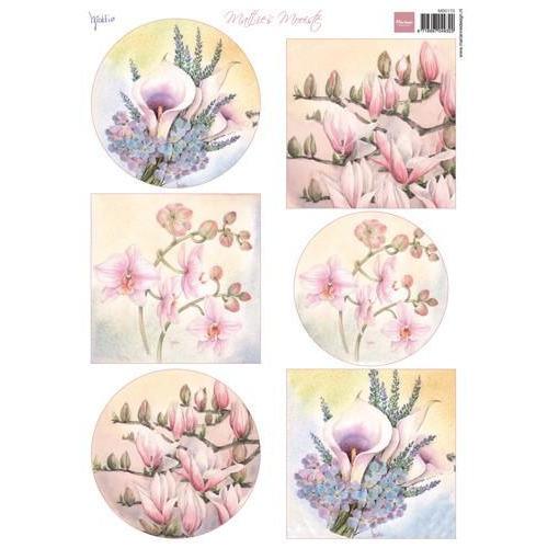 Marianne D 3D Knipvellen Mattie`s Mooiste Magnolia MB0170 A4 (01-18)