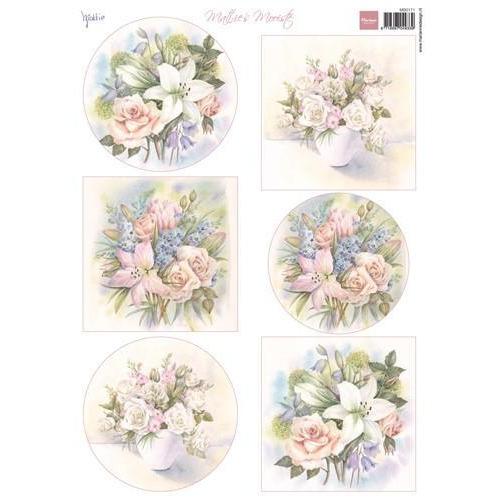 Marianne D 3D Knipvellen Mattie`s mooiste Lilies MB0171 A4 (01-18)