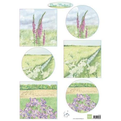Marianne D 3D Knipvellen Tiny`s bloemenweide 2 IT602 A4 (01-18)