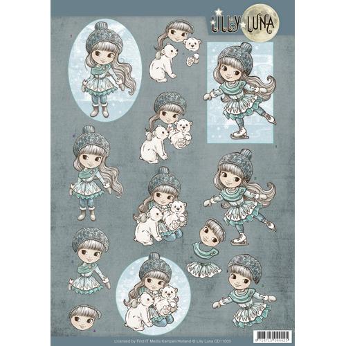 3D Knipvel - Lilly Luna - Ice Princess