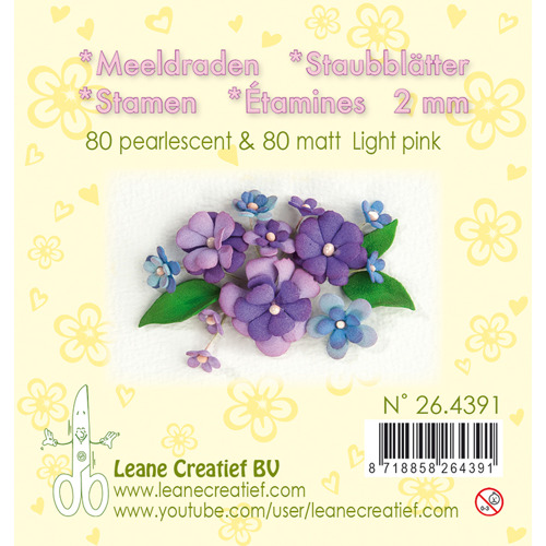 Meeldraden- light pink