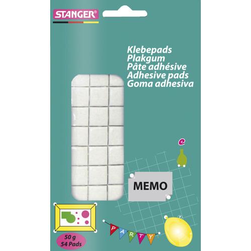 Sticky tack glue pads / Klebepads, 54 pcs.