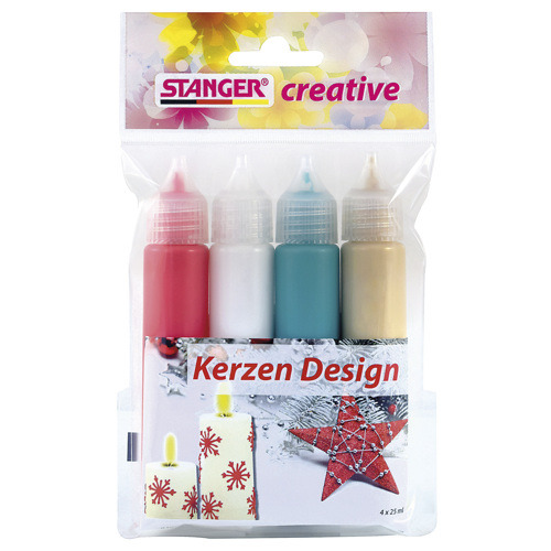 Candle Design Set / Kerzen Design Set (4er)