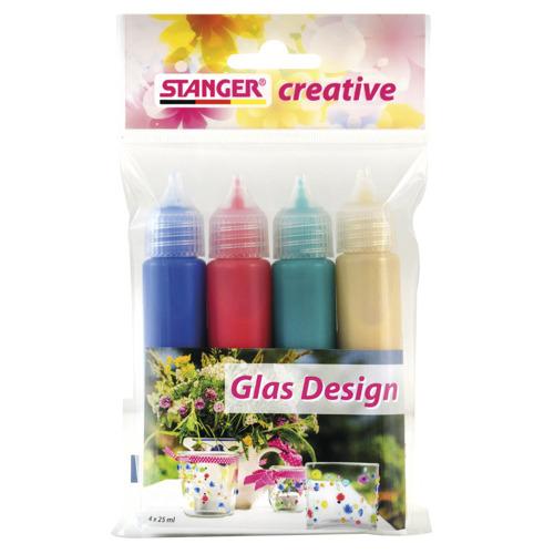 Glas Design Set (4er)