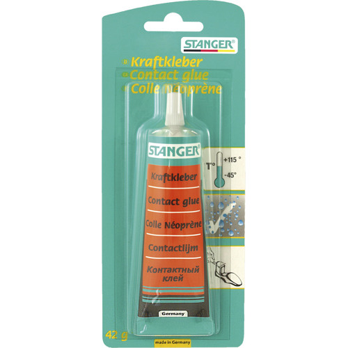 Contact Glue / Kraftkleber, 42 g tube, blister