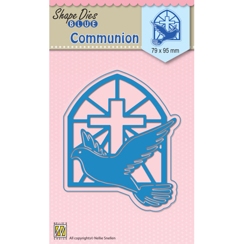 "Shape Dies blue ""Communion"""