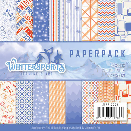 Paperpack - Jeanine`s Art - Wintersports