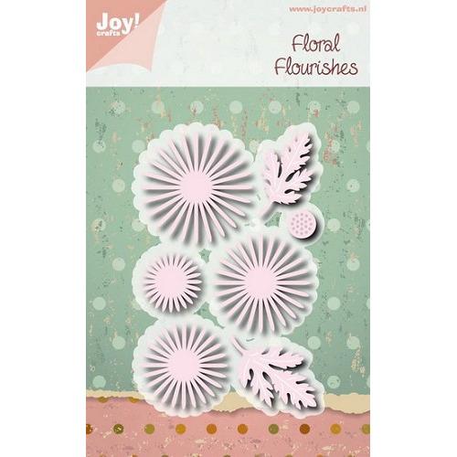 Joy! stencil chrysant