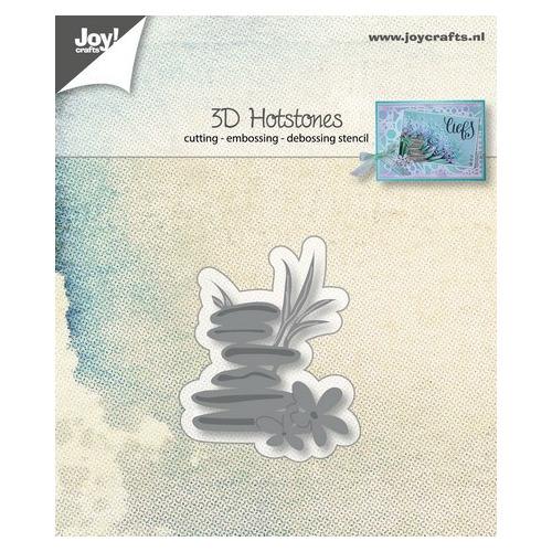 Joy! stencil 3D hotstones
