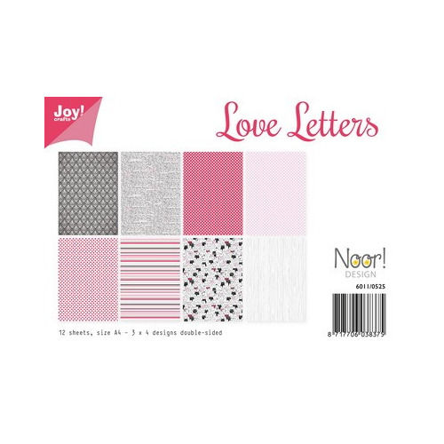 Joy! papierset design love letters