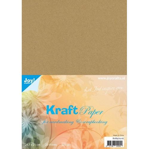 8 FEB Joy! Kraft papier A4 220 grs
