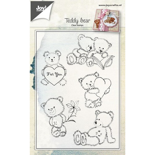 FEB Joy! stempel teddyberen