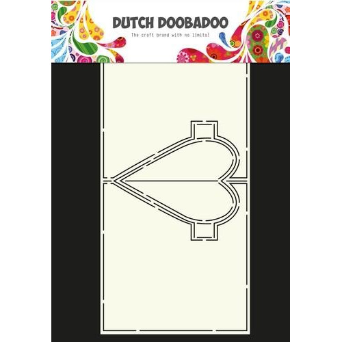 Dutch Doobadoo Dutch Card Art hart Pop Up 470.713.655 A4 (01-18)