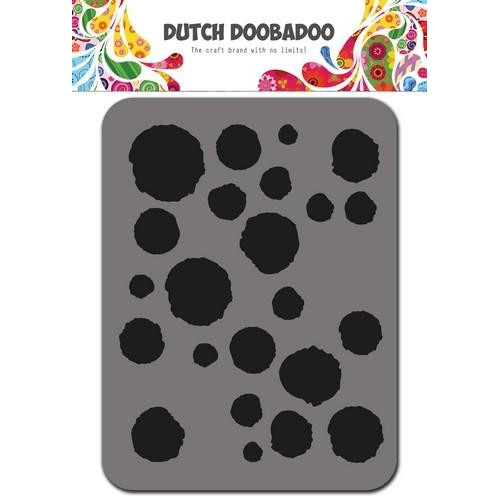 Dutch Doobadoo Foam stamps dots 494.902.003 75x96mm (01-18)