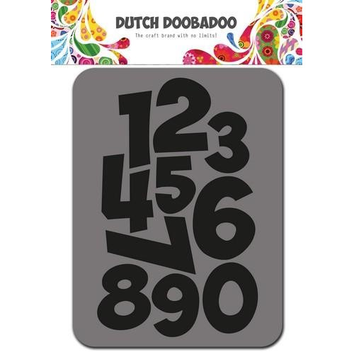 Dutch Doobadoo Foam stamps cijfers 494.902.002 75x96mm (01-18)