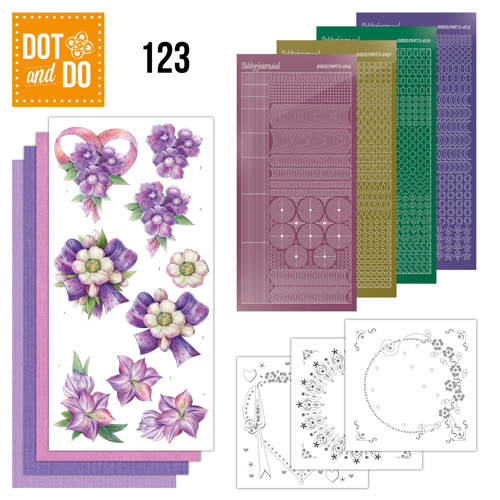 Dot and Do 123 - Purple Flowers