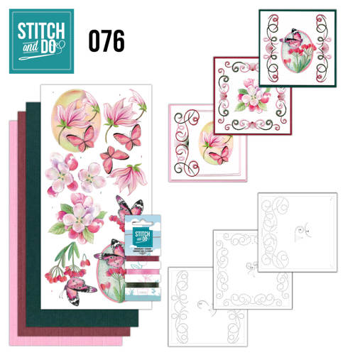 Stitch and Do 76 - Pink Flowers