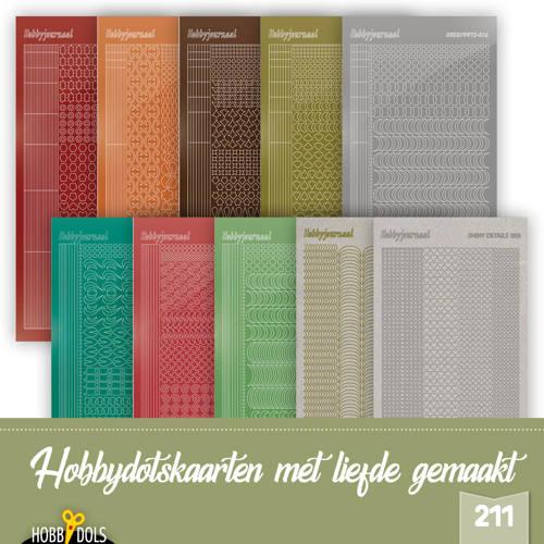 Stickerset Hobbydols 211