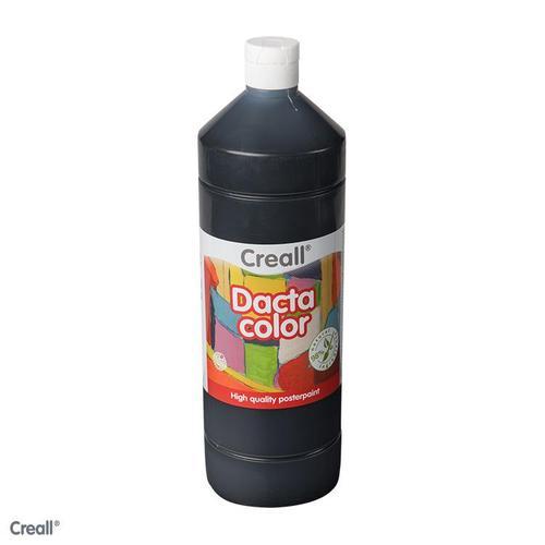 Creall Dactacolor  500 ml zwart 2790 - 20