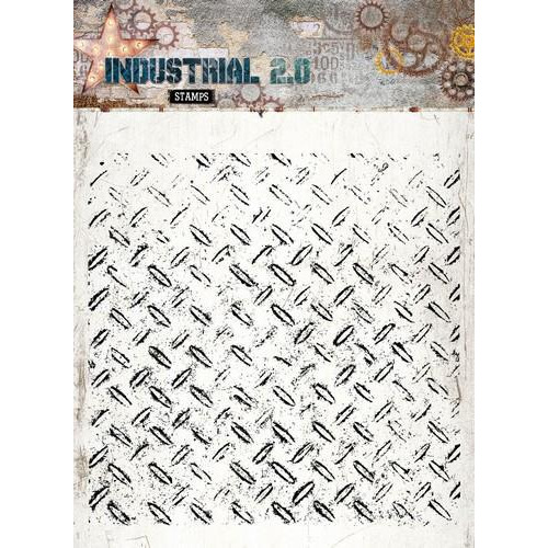 Studio Light Clearstempel A7 Industrial 2.0 nr 251 15X15cm STAMPIN251 (01-18)