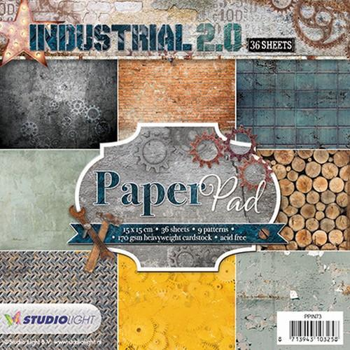 Paper pad 36 vel 12 designs Industrial 2.0 nr 73 PPIN73 (01-18)
