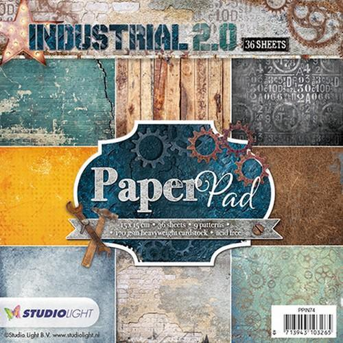 Paper pad 36 vel 12 designs Industrial 2.0 nr 74 PPIN74 (01-18)