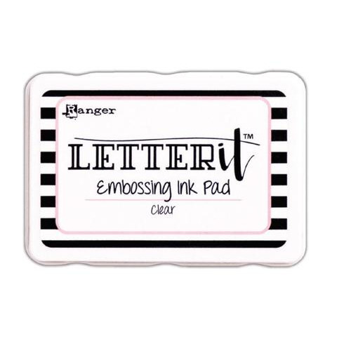 Ranger Letter It Embossing Ink Pad (Clear) LEI58809