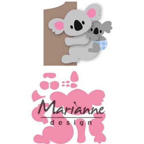 Marianne D Collectable Eline`s koala & baby COL1448 (02-18)