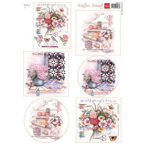 Marianne D 3D Knipvellen Mattie`s mooiste: needlework MB0172 (02-18)
