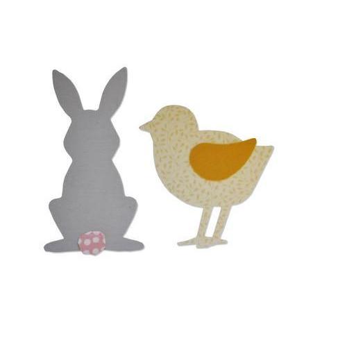 Sizzix Bigz Die - Spring Animals 662504 Sophie Guilar  (01-18)