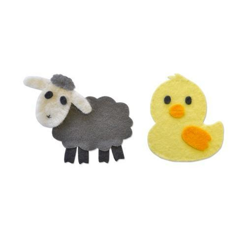 Sizzix Bigz Die - Sweet Spring Animals 662633   (01-18)