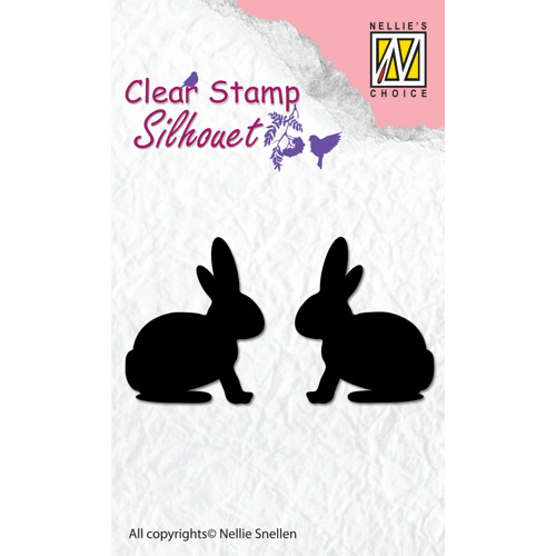 """Clear Stamps silhouette """"Hare"""""""