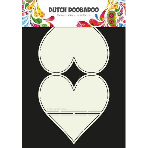 Dutch Doobadoo Dutch Card Art kaarten ezel hart 470.713.661 A4 (02-18)