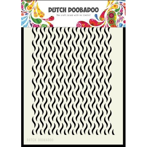 Dutch Doobadoo Dutch Mask Art  Floral Waves 470.715.125 A5 (02-18)