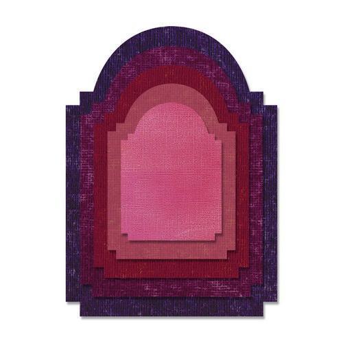 Sizzix Thinlits Die Set 5PK - Stacked Archway 662692 Tim Holtz (03 -18)